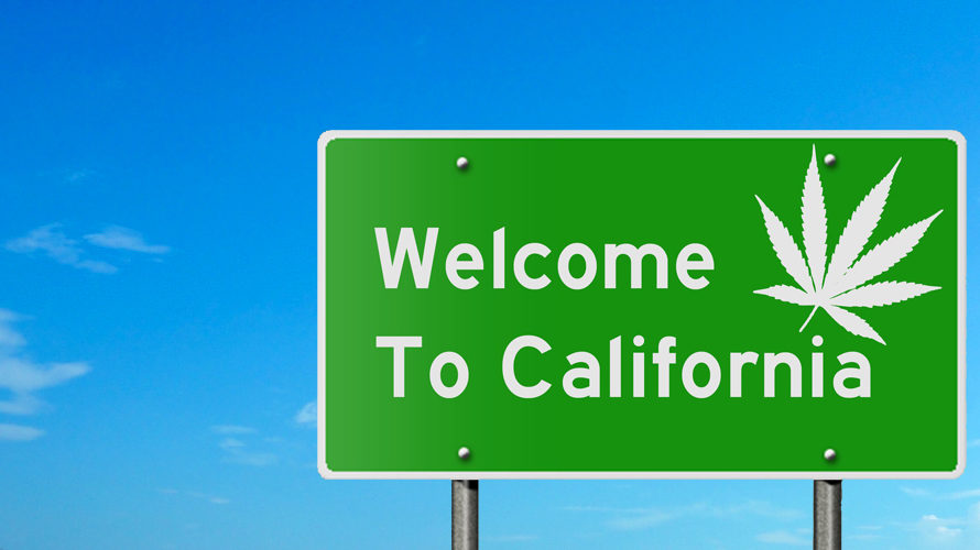 Welcome To California - Marijuana State